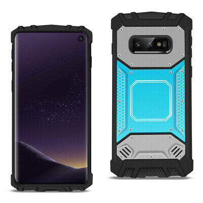 SAMSUNG GALAXY S10 Lite Metallic Front Cover Case In Blue and Gray