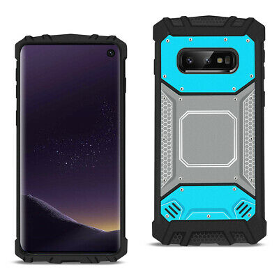 SAMSUNG GALAXY S10 Lite(S10e) Metallic Front Cover Case In Blue and Gray