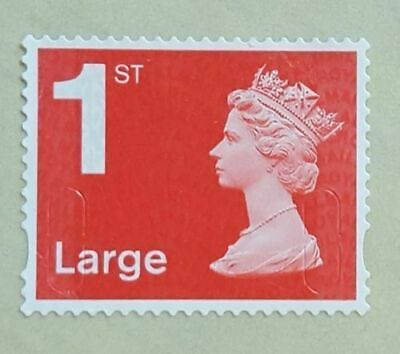 50 - 1st Class Large Letter Security Stamps Unfranked OFF PAPER NO GUM