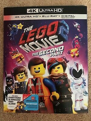 The Lego Movie 2: The Second Part 4K Ultra HD + Blu-Ray + Digital W/Slip Cover