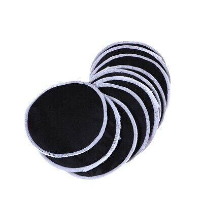 12pcs Pads Reusable Round Washable Simple Bamboo Fiber Pads Face Wipes for Woman