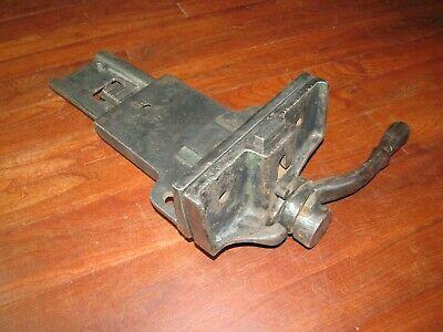 Antique Sheldon 7 Jaw Quick Release Woodworking Vise Old