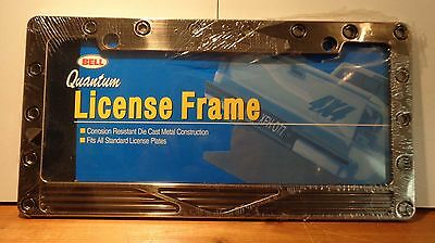 Bell Metal License Plate Frame Quantum For US style plates