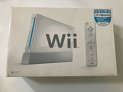 Original White Nintendo Wii EMPTY BOX ONLY NO CONSOLE And Packaging With Manuals