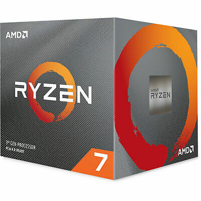 AMD Desktop CPU Ryzen 7 3700X AM4 8 Core 16 Thread 3.6 GHz 32 MB Cache Processor