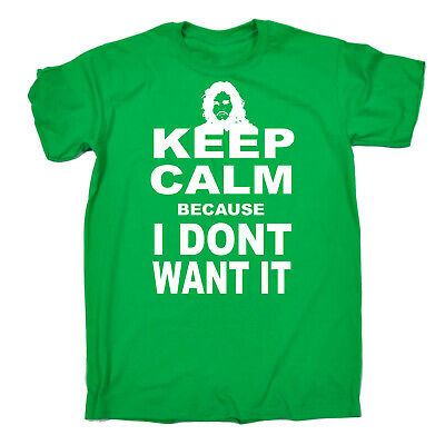 Funny Kids Childrens T-Shirt tee TShirt - Keep Calm I Dont Want It
