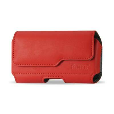 Horizontal Pouch Iphone5 Plus Red