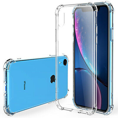 Luxury Shockproof Airbag Corner TPU Phone Case For iPhone X XS XR Max 8 7 Plus 6