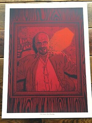 Descent Into Heisenberg Poster - Todd Slater - Limited Edition - Breaking Bad