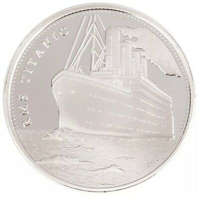 R.M.S TITANIC 1oz Finished In Fine Silver Coin Token 1912 Collectable Medallion