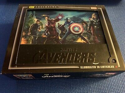 The Avengers (Blu-ray/DVD, 2012, 4-Disc Set Combo Pack 3D/2D) Best Buy Exclusive