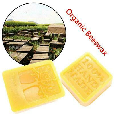 50g/105g Organic Beeswax Cosmetic Grade Filtered Natural Pure Bees Wax Bars E9B2