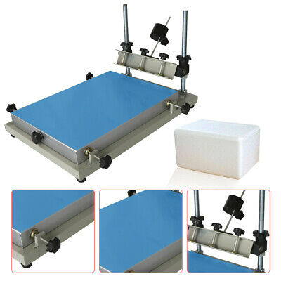 High Accuracy 3024 Solder Paste Printing Machine PCB SMT Manual Stencil Printer
