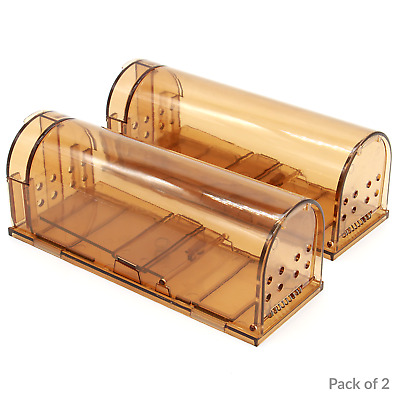 Humane Rat Trap Cage Animal Pest Rodent Mice Mouse Bait Catch Capture Control