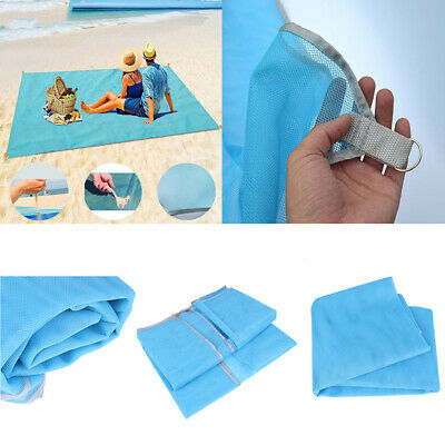 Sand Free Beach Blanket Mat Waterproof Outdoor Camping towel Picnic MattressKr
