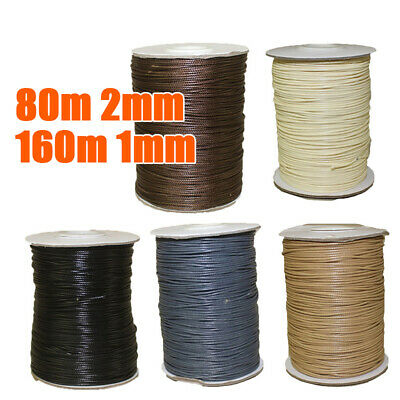1pc DIY Korean Waxed Polyester Cord String Thread Beading Jewelry Making Supply