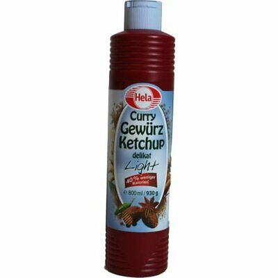 Hela Curry Gewürz Ketchup delikat light 930g