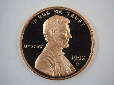 1992 S Lincoln Memorial Clad Penny Proof Cent US Coin Proof (PF) - SKU 71USPCL