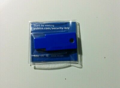 Yubico Fido U2F Security Key - Version 1