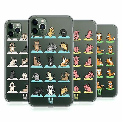 HEAD CASE DESIGNS YOGA ANIMALS GEL CASE FOR APPLE iPHONE PHONES