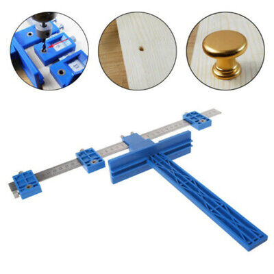Drill Guide Tool Drilling Locator Ruler Woodworking Punch Locator Hole Tool Slae