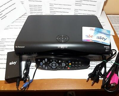 DECODER MY SKY HD PACE DPS5002NS COMBO CON DIGITALE.TERRESTRE dvbt 2..