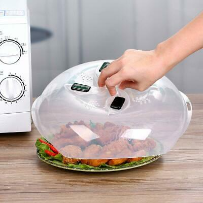 Best Microwave Plate Cover Magnetic Hover Splatter Lid Foods Table BPA-Free Home