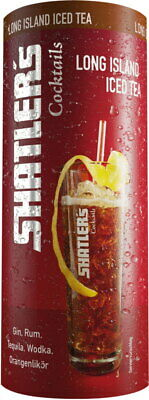 Shatlers Cocktails Long Island Ice Tea aus der Dose 11,8% Vol. 200ml