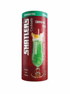 Shatlers Swimming Pool Cocktail für den Sommer Wodka Rum und Kokos 200ml
