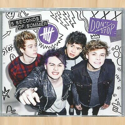 5 SECONDS OF SUMMER Don't Stop (Demo) SSOS CD Wrapped Around Your Finger    0808