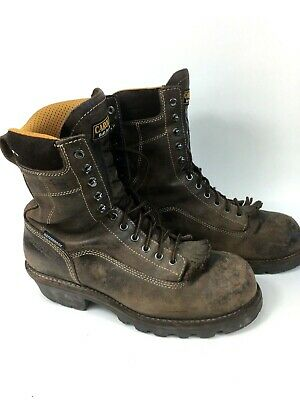 cfd6b62a7ab MEN'S CAROLINA COMPOSITE Toe Insulated Work Boot CA8521 size 8-D ...