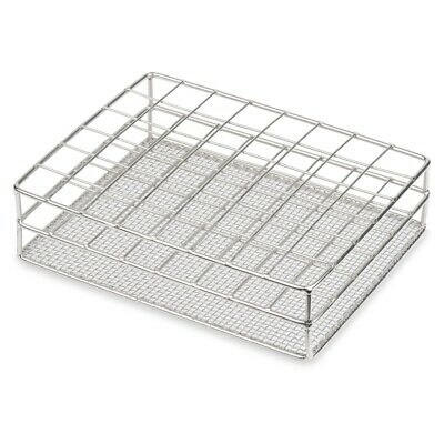 Stainless Steel TestTube rack, Wire Constructed, 25mm, 48 Places (Case 24)