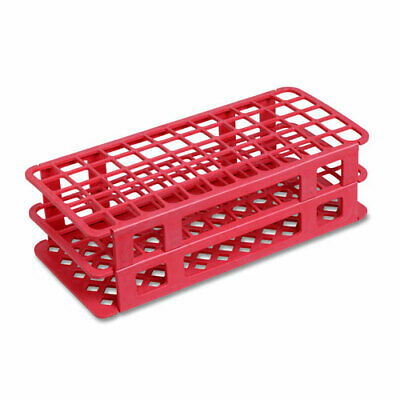 40 Place, 20/21mm Snap Rack, PP Plastic, Red (Case 50)