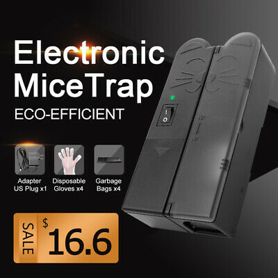 Mice Trap Electronic Mouse Trap Reset Killer Pest Zapper Rodent Electric plug