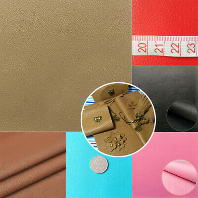 1 X PU Leather Fabric Faux Leather For Sewing Bag Clothing Sofa Car Material