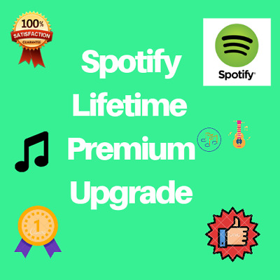 ⭐ Spotify Premium Lifetime Upgrade ⭐ Exist or New Account ⭐ Not All Countries ⭐