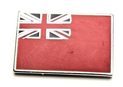 Red Ensign Merchant Navy Lapel Pin badge in Pouch Gift Idea M027