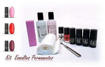 KIT Esmaltes permanentes Easy 69, 72, 91