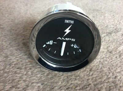 NEW SMITHS AMMETER GAUGE ..52 MM Diameter. 60-0-60 Scale