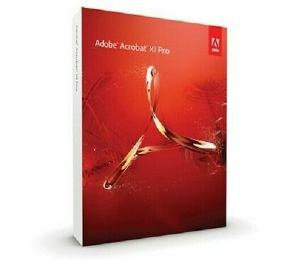 Adobe Acrobat XI (11) PRO - Deutsch-Englisch Windows - Mac