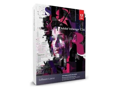 Adobe InDesign CS6 - Deutsch  Englische Vollversion Windows