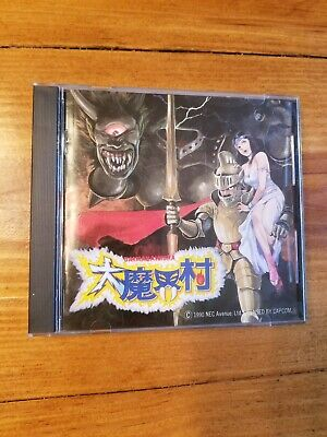 NEC PC ENGINE SUPER GRAFX daimakaimura DAIMAKAIMURA ghosts n