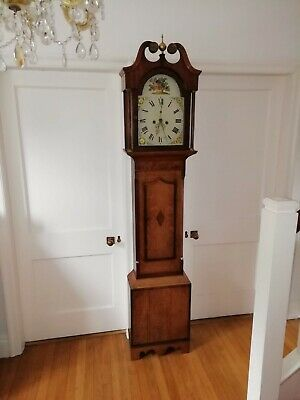 Bothamley Boston Longcase Grandfather Clock Circa 1820
