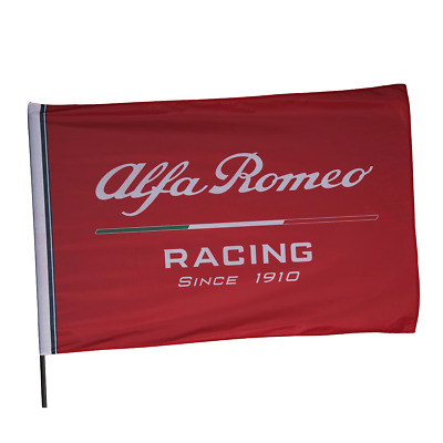 Alfa Romeo Racing Official Flag - 150 x 100 cm - 2019