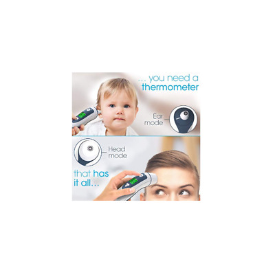Brand New Iproven Dmt-489 Dual Mode Forehead & Ear Digital Thermometer