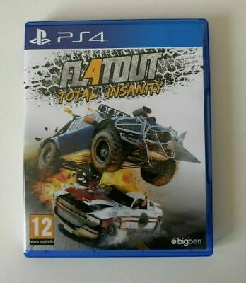 FlatOut 4 Total Insanity PS4 SAME DAY Dispatch [Order By 3pm]
