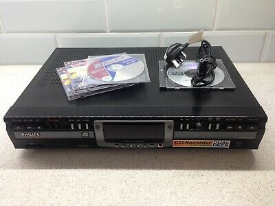 Philips CDR 775 - Dual deck Audio CD recorder - Full working order