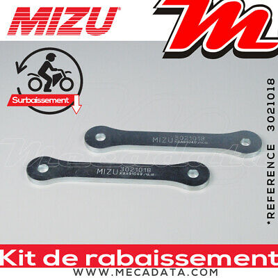 Kit de Rabaissement Honda NC 750 X / XA / XD (RC72) 2015 Mizu - 30 mm