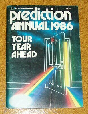 Prediction annual 1986, Astrology, collectable