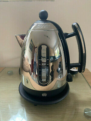 **Dualit Jkt33A, Black And Stainless 1.5 Litre Kettle, Boxed, Pat Tested**